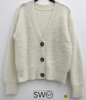 Cozy 3 Button Sweater